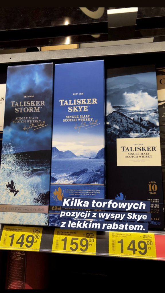 Talisker Single Malt Carrefour