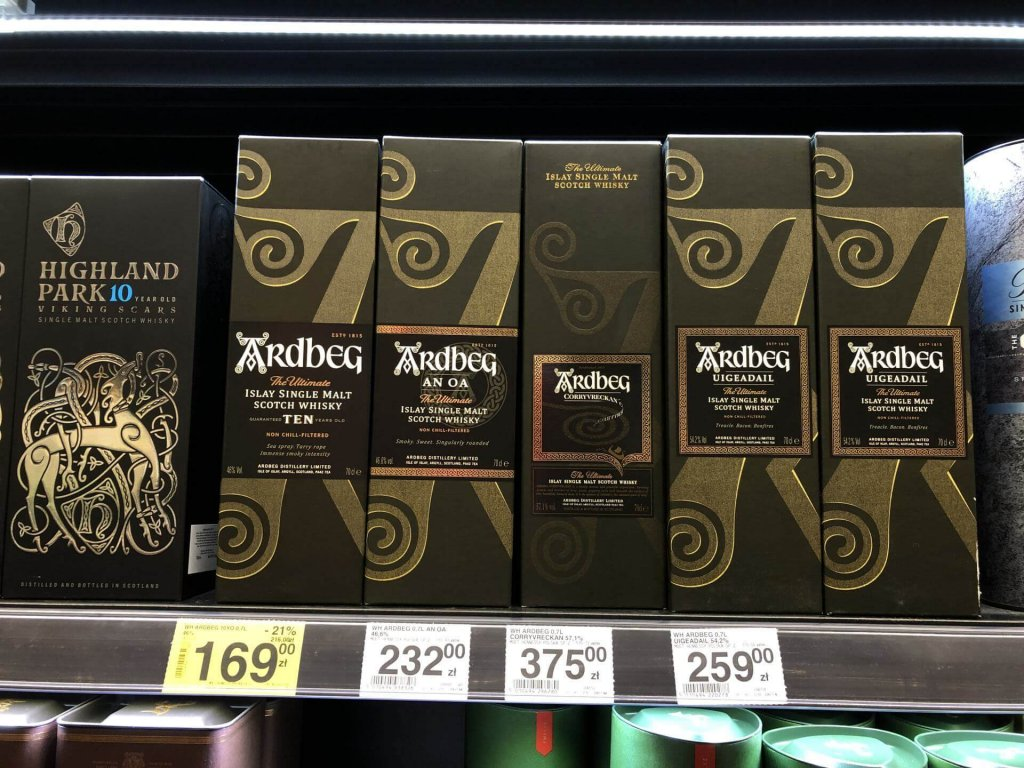 Whisky Ardbeg Carrefour