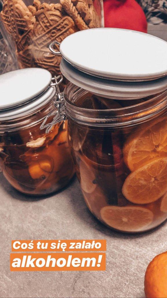 Owoce i wanilia zalana bourbonem
