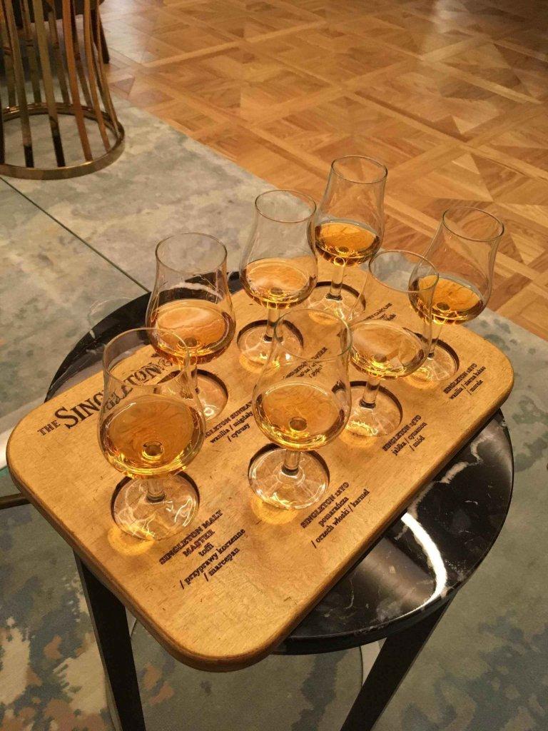 Spotkanie z whisky w hotelu Raffles Europejski