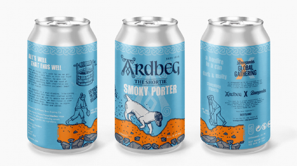 Shortie Smoky Porter - piwo od Ardbeg
