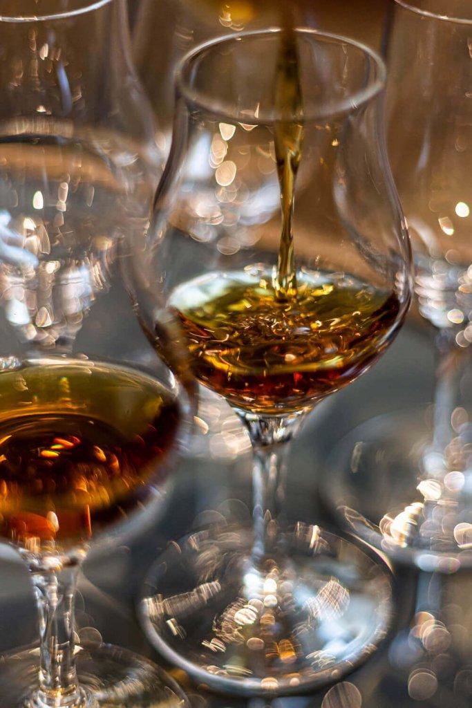 Kieliszki do whisky single malt Amber Glass