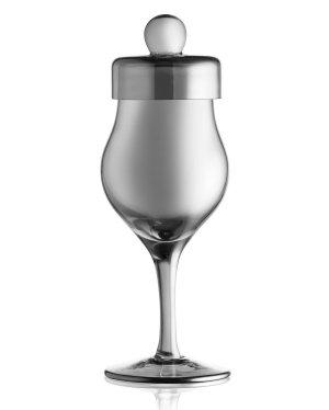 Czarny kieliszek do whisky Amber Glass G102