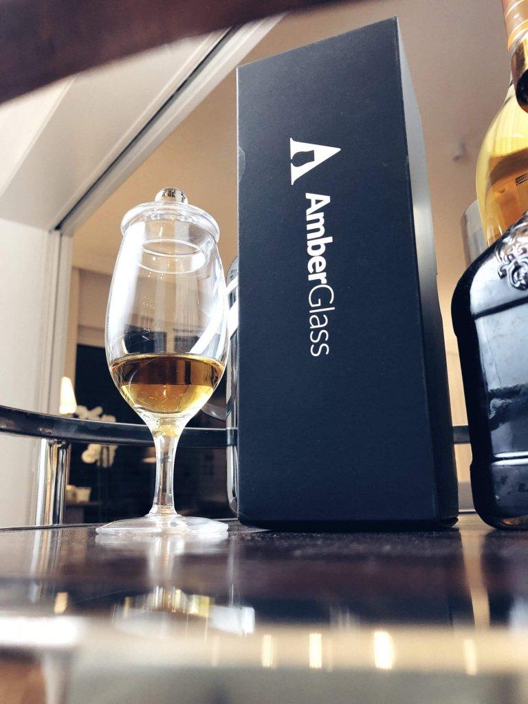 Kieliszek do whisky z pokrywką Amber Glass - G200