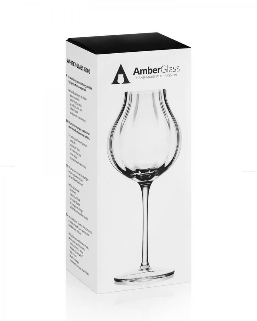 Kieliszek do whisky Amber Glass, G600 box