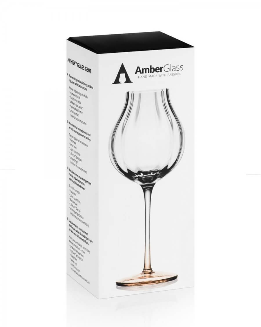 Kieliszek do whisky Amber Glass, G601 box
